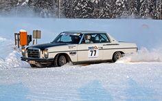 77 Pekka Vesanen - Mika Turkki , Mercedes-Benz 280CE , historic-yleiskilpailun kolmas