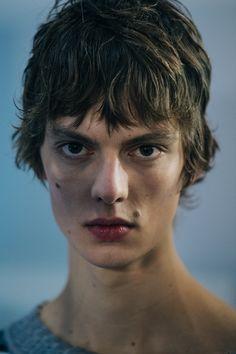 Portrait of model Leon Dame