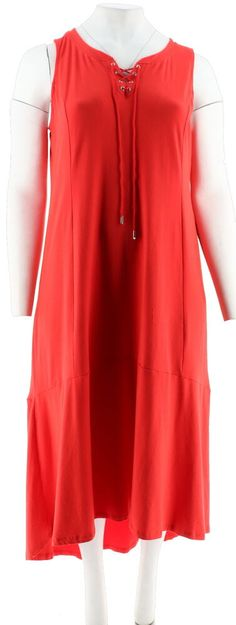 Laundry ~ Red Embellished Keyhole Neck Ruched Side Slit Sheath Gown 6 NEW $295