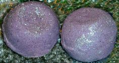 Lavender, Patchouli & Spanish Rosemary Handcrafted Bombshell Bubble Bomb for the bath ...with shea butter & kaolin clay - medium: $3 or 2 for $5, large $5 or 2 for $9  #bubblebomb  --- ORDER: star9soap@gmail.com / http://paypal.me/star9soap