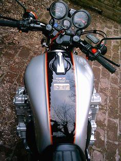 Classic Honda Motorcycles, Old School Motorcycles, Honda Bikes, Vintage Motorcycles, Touring Motorcycles, Honda Cbx 1050, Honda Cb Series, Cb 600, Aftermarket Motorcycle Parts
