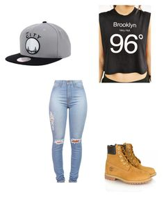 """Untitled #102"" by lovecas ❤ liked on Polyvore featuring Timberland and Truly Madly Deeply"