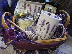 Customize a gift basket http://barnowlnursery.com/garden-tour/
