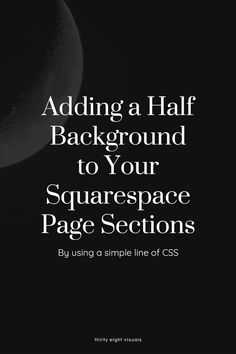 """Take a look at how you can create a responsive half-screen and angled background with CSS. """"Why bother with CSS if I can simply create a color block image and place it as a background?"""" Because by using an image you'll lose too much time trying to align it to the exact position you want it in, only to have it move again when viewing on a different screen."""