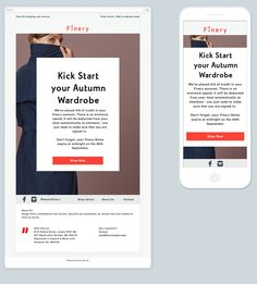 Une news responsive élégante avec une intéressante gestion de l'arrière plan en responsive web design. #RED #fluideEmail #responsiveEmailDesign Email Design Inspiration, Responsive Email, Web Design, Don't Forget, Marketing, Be Nice, Management, Design Web, Website Designs