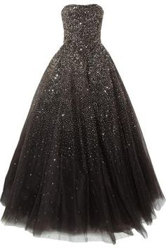 Marchesa Sequined tulle gown by johanna