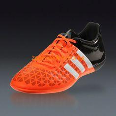 half off d4aca 1a9ff Zapatillas de futbol sala Adidas Ace 15.3 IN Blanco Negro Naranja