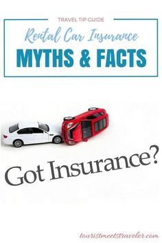 After doing some more digging on the subject, Tourist Meets Traveler has broken down some rental car insurance myths and facts.