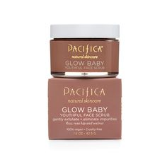 Pacifica Glow Baby Youth exfoliate Scrub, bought today, used once and my skin was glowing!!!