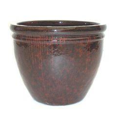 Lowes Garden Treasures 4 Quot H X 10 Quot W X 10 Quot D Red Ceramic