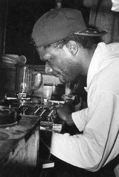 Larry Levan was dedicated to the music and the power of that music on the dance floor. He would often leave the booth and become part of that dancefloor experience. Could you imagine that happening today… I think not? There maybe a few left...