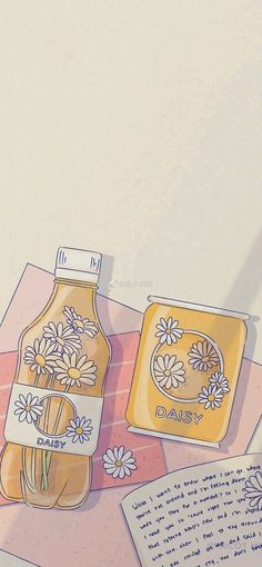 Wallpaper Doodle, Soft Wallpaper, Iphone Background Wallpaper, Aesthetic Pastel Wallpaper, Cartoon Wallpaper, Aesthetic Wallpapers, Arte Do Kawaii, Kawaii Art, Cute Icons