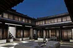 The hotel is a courtyard house located in the ancient town of Lijiang in Yunnan Province, China.