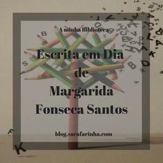 Recursos do Escritor: 'Escrita em Dia' de Margarida Fonseca Santos Cover, Frame, Books, Writer, Daisies, Reading, Saints, Creativity, Picture Frame