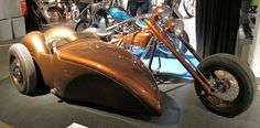 Kustom Kulture Show 2014 Helsinki custom motorbike