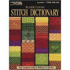 Plastic canvas stitch dictionary| Plastic canvas stitch guide, patterns & Instructions