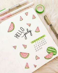 41 Bullet Journal Monthly Cover Ideas You Must Try - Its Claudia G - - If you're looking for bullet journal monthly cover ideas, you should check these bullet journal ideas for every month of the year! Bullet Journal Cover Ideas, Bullet Journal June, Bullet Journal Writing, Bullet Journal Headers, Bullet Journal Banner, Bullet Journal School, Bullet Journal Aesthetic, Bullet Journal Spread, Bullet Journal Layout