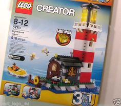 LEGO Creator 5770 Lighthouse Island 3 in 1 New Factory Sealed.....$79.95