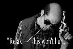 His last words. Hunter S. Thompson
