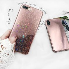Painted Macaron Girl Glitter Quicksand Liquid Sand Phone Silicon Cover Back Shell Funda For Apple Iphone 6 6s 6g 7 8 Plus X Case Cellphones & Telecommunications