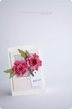 rose-centered flowers.