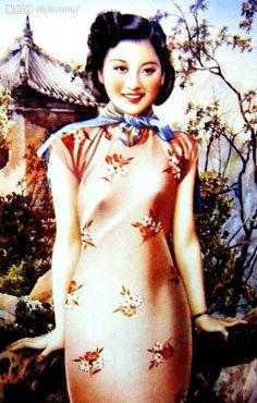 Shanghai qipao girl