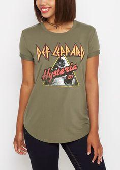 4df4b476782 Def Leppard Hysteria Tee. Graphic Tee ShirtsDef LeppardBand ...