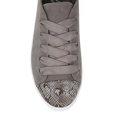 Snakeskin Effect Trim Lace-up Shoes | Women | George at ASDA