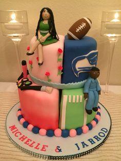 Minion with birthday boy cake 3D Childrens Cake Pinterest Boy