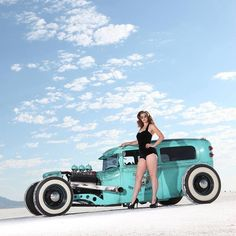 Carros Audi, Rat Rod Pickup, Pin Up Car, Trick Riding, Traditional Hot Rod, Rockabilly Cars, Us Cars, Car Girls, Sexy Cars