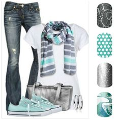 Fun and casual, Jamberry has wraps for every outfit!! www.marcyhoste.jamberrynails.net