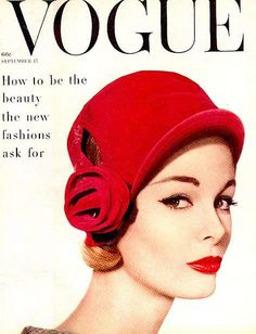 Monique Chevalier, American Vogue, Sept. 15, 1958