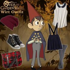 Over the Garden Wall - Wirt Inspired Outfit #overthegardenwall