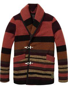 Wool Carabiner Hook Jacket by Scotch & Soda
