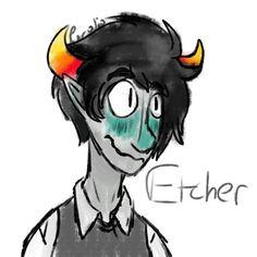 Etcher- My BFFS gay oc