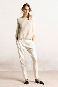 This Chic Equestrian Line Isn't Just For Horse Lovers #refinery29 http://www.refinery29.com/massimo-dutti#slide-9 Massimo Dutti Flowing Trousers Limited Edition, $96.49, available at Massimo Dutti. ...