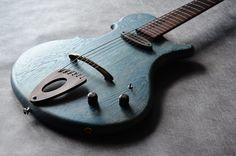 Stradi Blue | Modern Mojo Guitars