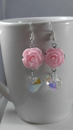 Check out this item in my Etsy shop https://www.etsy.com/listing/585034667/heart-earrings-valentines-day-earrings