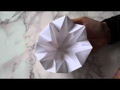 GUIDE: Sådan folder du papirsdiamanter på 4 min. | Sabinas Verden