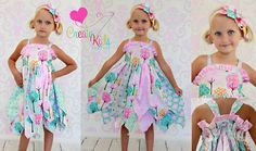 Fairy's double layer princess dress PDF by CreateKidsCouture