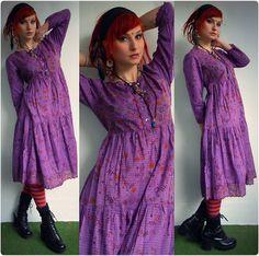 Gudrun Sjõdén Long Dress, Gudrun Sjõdén Tights, Diy Earrings - Hypnotized - Rabbit Heart