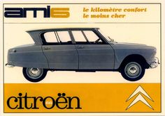 Citroën Ami6 Advertising And Promotion, Car Advertising, Classic Motors, Classic Cars, Vintage Advertisements, Vintage Ads, Radios, Green Label, Automobile
