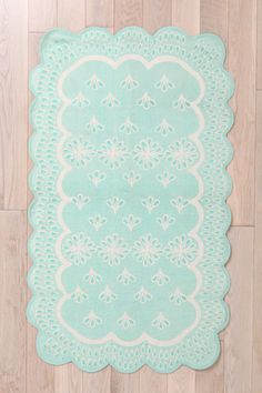Eyelet Rug at Urban Outfitters