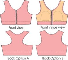 Alison Sports Bra Pattern - Sweet Cups Bra Supply