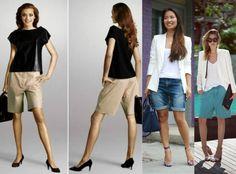 FEMINA - Modéstia e elegância: Spring trend - Bermudas modestas e elegantes