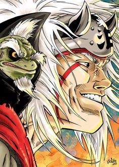 49 best jiraiya the pervery sage toad images anime naruto