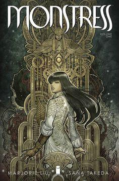 Fantasía Mágica: Marjorie M. Liu: Monstress, Vol 1 - Awakening