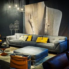 New Grant sofa by Dandy Home Collection & Gamma. #dandy #dandyhome #dandyhomecollection #gamma #gammaarredamenti #luxurylifestyle #luxurylife #luxury #fashion #isaloni2016 #madeinitaly #contemporary #contemporaryfurniture #design #designer #interiordesign #interior #interiors #modern #modernfurniture #leather #leathersofa #leatherfurniture #handmade #handmadeinitaly #craftmanship #craft #milano #milan #isaloni #isaloni2016 by gamma_arredamenti