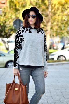 Victim of my closet: Sweatshirt #kissmylook