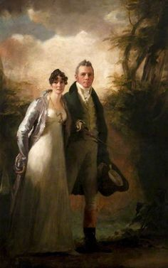 Mr and Mrs Robert N. Campbell of Kailzie Henry Raeburn (1756–1823) Kelvingrove Art Gallery and Museum
